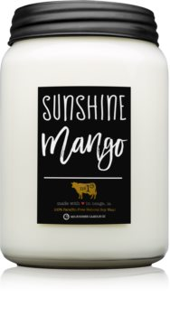 Milkhouse Candle Co. Farmhouse Sunshine Mango lumânare parfumată