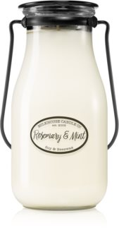 Milkhouse Candle Co. Creamery Rosemary & Mint scented candle