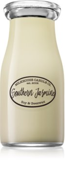 Milkhouse Candle Co. Creamery Southern Jasmine scented candle Milkbottle