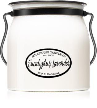 Milkhouse Candle Co. Creamery Eucalyptus Lavender illatos gyertya  Butter Jar