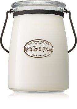 Milkhouse Candle Co. Creamery White Tea & Ginger Tuoksukynttilä Voipurkki