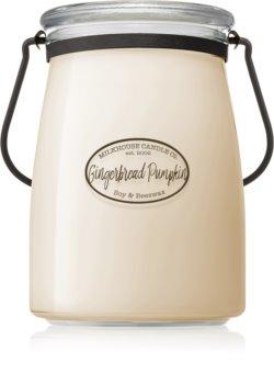 Milkhouse Candle Co. Creamery Gingerbread Pumpkin geurkaars Butter Jar