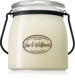 Milkhouse Candle Co. Creamery Lilac & Wildflowers αρωματικό κερί Butter Jar