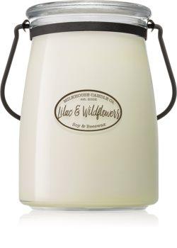 Milkhouse Candle Co. Creamery Lilac & Wildflowers duftkerze  Butter Jar