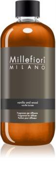 Millefiori Natural Vanilla and Wood refill för aroma diffuser