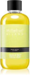 Millefiori Natural Lemon Grass recharge pour diffuseur d'huiles essentielles