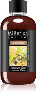 Millefiori Natural Sandalo Bergamotto ανταλλακτικό για διαχυτές αρώματος
