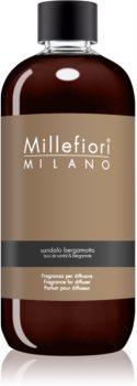 Millefiori Natural Sandalo Bergamotto recharge pour diffuseur d'huiles essentielles