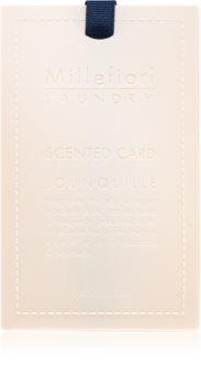 Millefiori Laundry Jonquille fragrance card