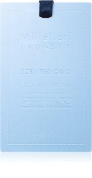 Millefiori Laundry Ocean Wind Carte parfumée