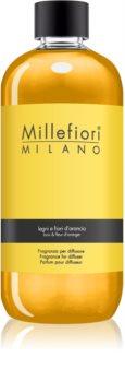 Millefiori Natural Legni e Fiori d'Arancio ricarica per diffusori di aromi