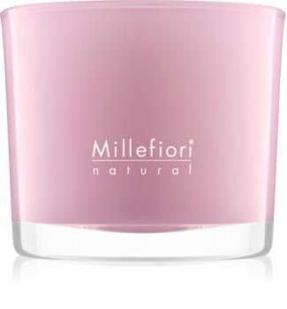 Millefiori Natural Magnolia Blossom & Wood scented candle