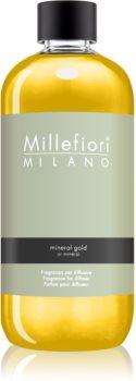 Millefiori Natural Mineral Gold recharge pour diffuseur d'huiles essentielles