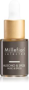 Millefiori Selected Muschio & Spezie huile parfumée