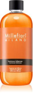 Millefiori Natural Luminous Tuberose recharge pour diffuseur d'huiles essentielles