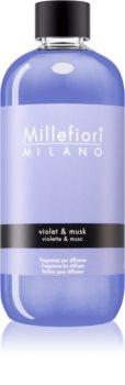 Millefiori Natural Violet & Musk napełnianie do dyfuzorów