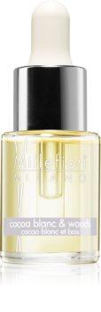 Millefiori Natural Cocoa Blanc & Woods huile parfumée
