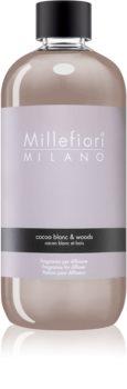 Millefiori Natural Cocoa Blanc & Woods refill for aroma diffusers