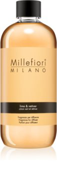 Millefiori Natural Lime & Vetiver Täyttö Aromien Hajottajille