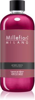 Millefiori Natural Grape Cassis recharge pour diffuseur d'huiles essentielles