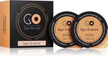 Millefiori GO Legni & Spezie vôňa do auta náhradná náplň