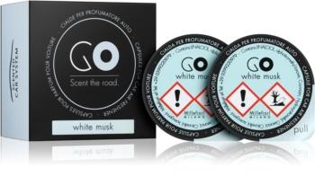 Millefiori GO White Musk aроматизатор за автомобил резервен пълнител