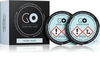 Millefiori GO White Musk car air freshener Refill