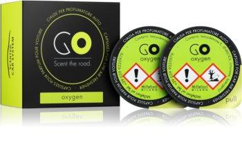 Millefiori GO Oxygen deodorante per auto ricarica