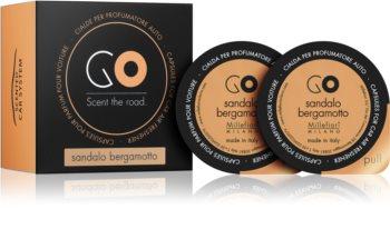 Millefiori GO Sandalo Bergamotto deodorante per auto ricarica
