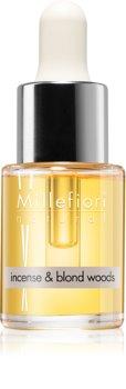 Millefiori Natural Incense & Blond Woods huile parfumée