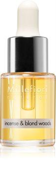 Millefiori Natural Incense & Blond Woods olio profumato