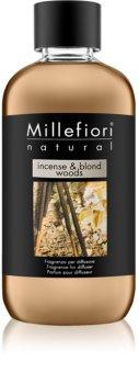 Millefiori Natural Incense & Blond Woods пълнител за арома дифузери