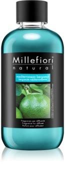 Millefiori Natural Mediterranean Bergamot recharge pour diffuseur d'huiles essentielles