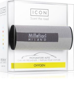 Millefiori Icon Oxygen désodorisant voiture Textile Geometric