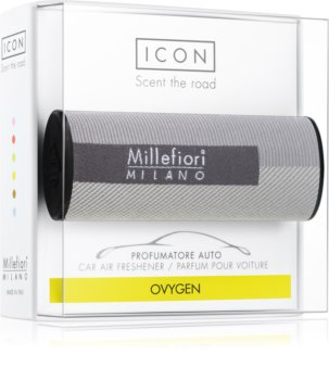 Millefiori Icon Oxygen vůně do auta Textile Geometric