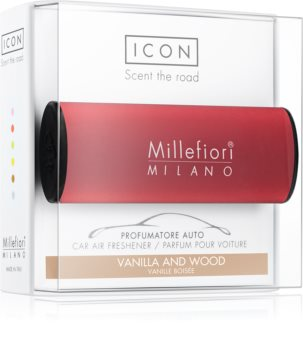 Millefiori Icon Vanilla & Wood luftfrisker til bil