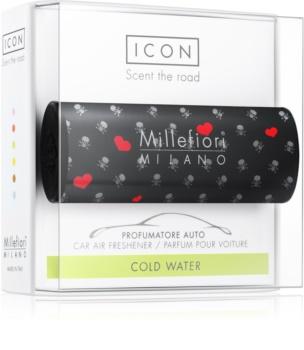 Millefiori Icon Cold Water dišava za avto Cuori & Fuori