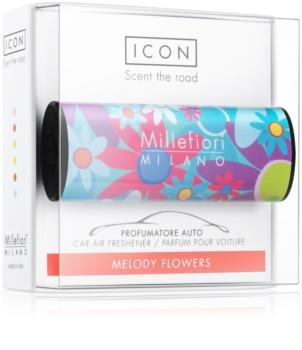 Millefiori Icon Melody Flowers deodorante per auto Cuori & Fuori