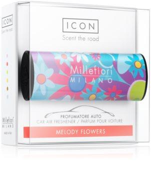 Millefiori Icon Melody Flowers dišava za avto Cuori & Fuori