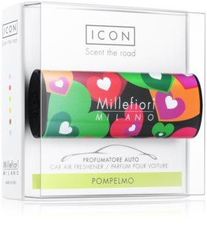 Millefiori Icon Pompelmo car air freshener Cuori & Fuori