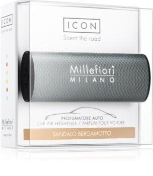 Millefiori Icon Sandalo Bergamotto luftfrisker til bil Bymæssig
