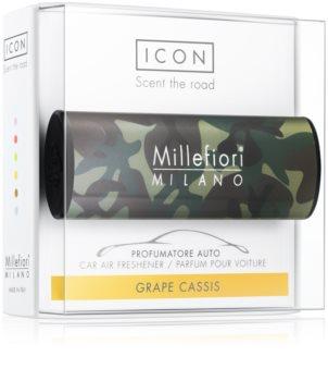 Millefiori Icon Grape Cassis car air freshener Animalier