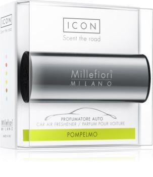 Millefiori Icon Pompelmo odświeżacz do samochodu Metallo