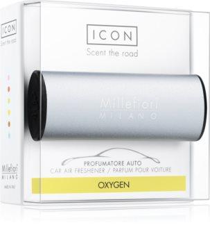 Millefiori Icon Oxygen odświeżacz do samochodu Metallo Matt Blue