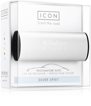 Millefiori Icon Silver Spirit car air freshener Classic