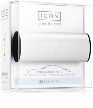 Millefiori Icon Silver Spirit άρωμα για αυτοκίνητο Κλασικό