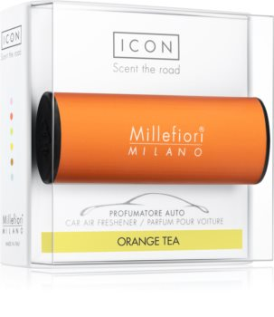 Millefiori Icon Orange Tea vůně do auta Classic