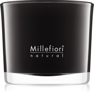 Millefiori Natural Nero vonná sviečka