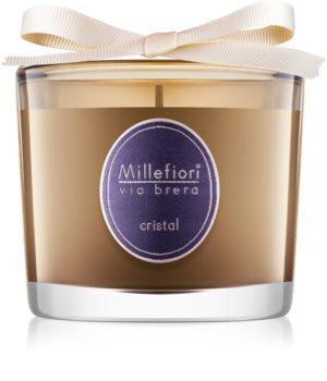 Millefiori Via Brera Cristal αρωματικό κερί