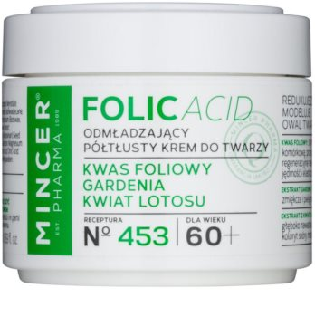 Mincer Pharma Folic Acid N° 450 crema facial rejuvenecedora 60+